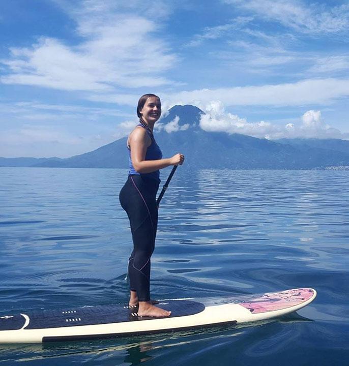 Nicole Arnott, world explorer from Wee Gypsy Girl.