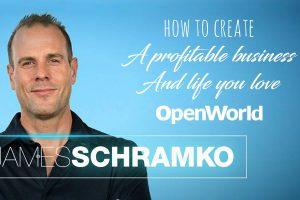 "James Schramko, author of ""Work Less, Make More"""