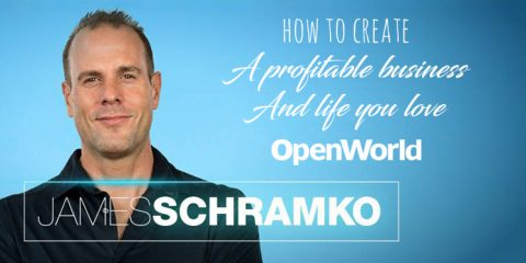 "James Schramko, author of ""Work Less, Make More"""