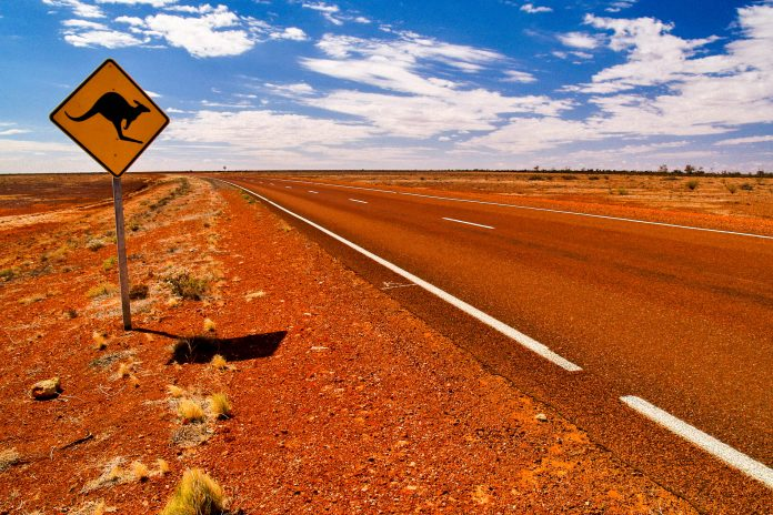 The great Australian outback